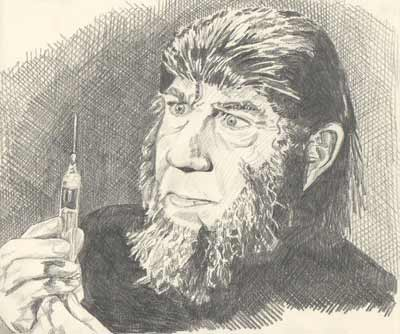 Bela Lugosi as the Apeman