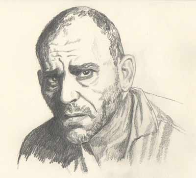 Drawing of Lon Chaney