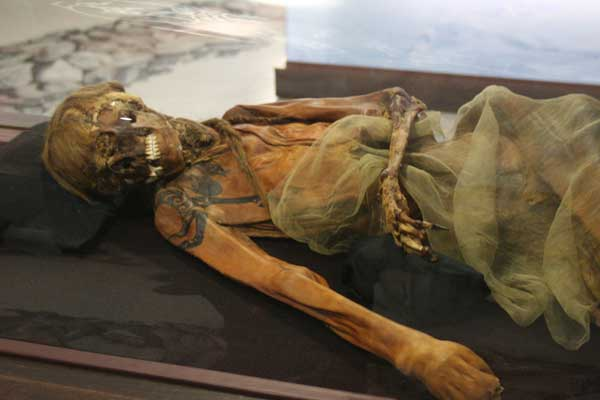 Pazyryk male mummy