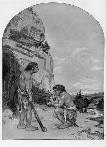 Frontispiece from Men of the Old Stone Age