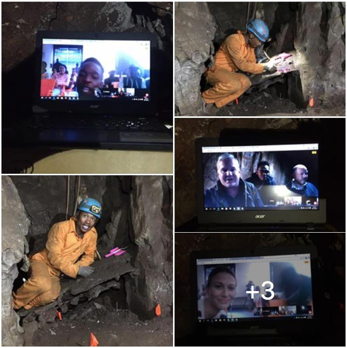 A look at some photos of the live National Geographic Classroom events in the Rising Star cave system